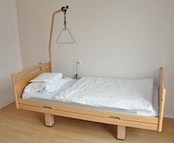 Schlafzimmer Pflegeoptimiert